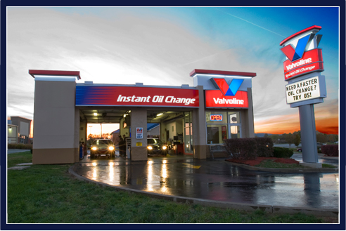 Valvoline makes it easy to find a valuable franchise location.
